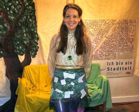 Bild vom Märchenfest mit Monja Grimmig als Kiezfee